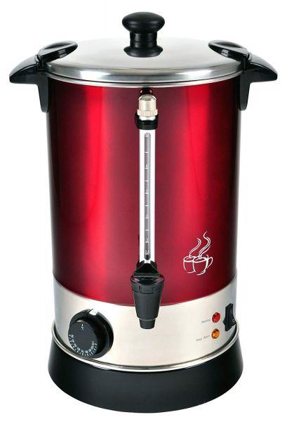 Glühweinautomat Efbe SC GW 900 metallic dunkelrot, für bis zu 6,8 L