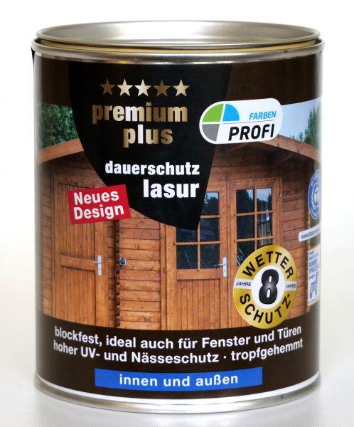 "PROFI PremiumPlus Dauerschutzlasur ""Kiefer"", 750 ml"