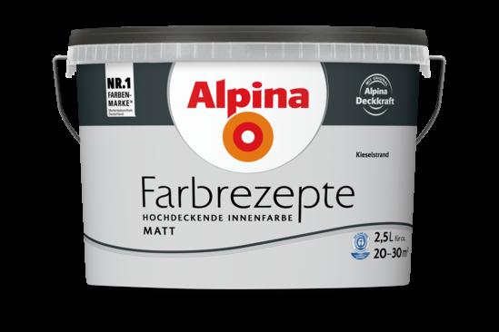 """Alpina Farbrezepte """"Kieselstrand"""""""