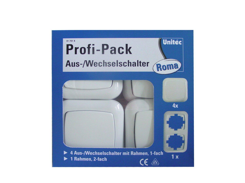 Profi-Pack Aus-/ Wechselschalter-Set \'\'Roma\'\'   Schalterserien ...