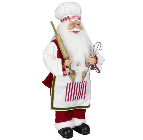 Weihnachtsmann Bäcker, 60 cm